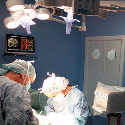 General surgery, traumatology and neurosurgery
